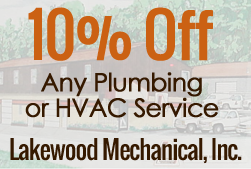 10% Off, Any Plumbing or HVAC Service